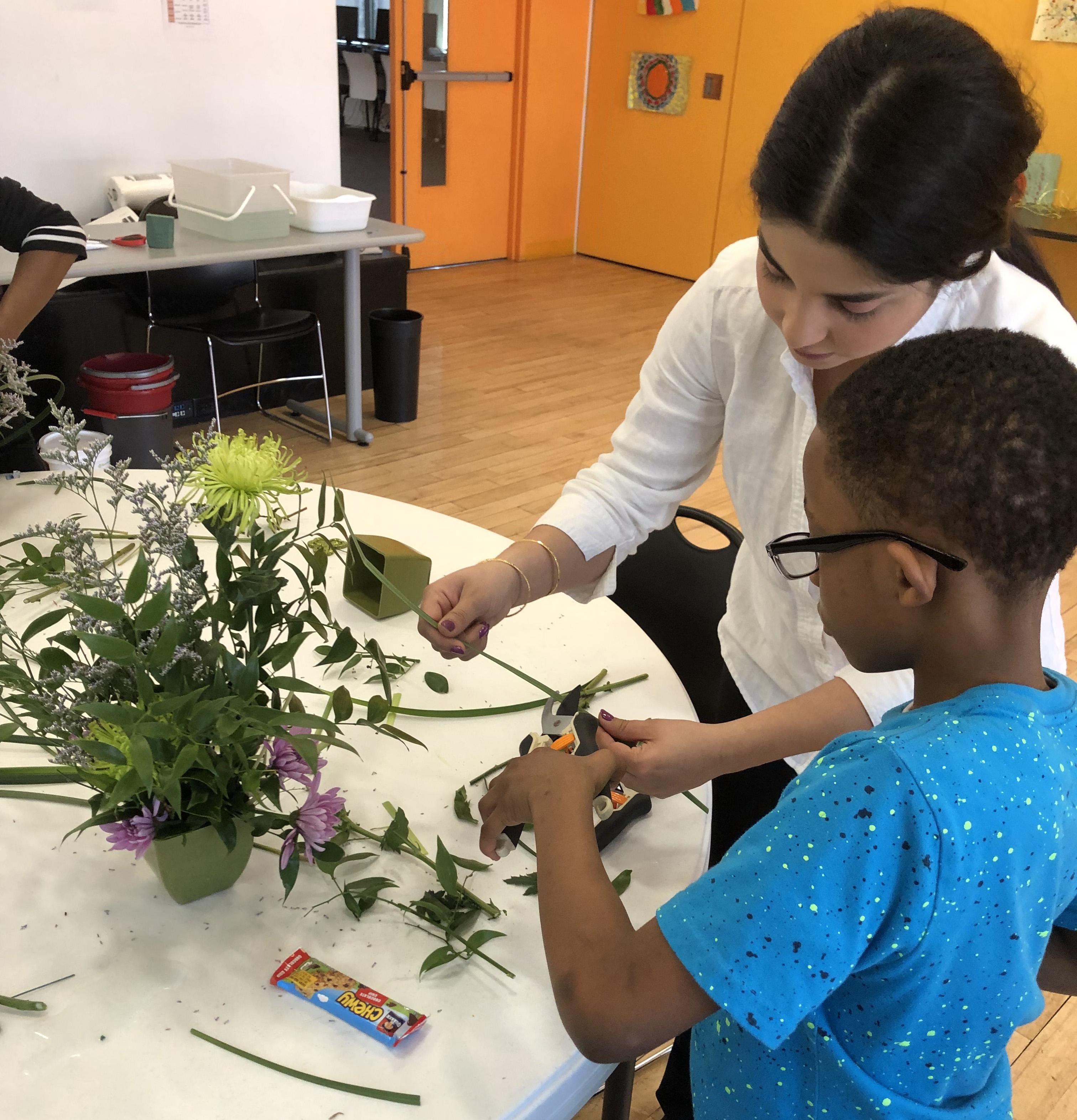 floral arragement class