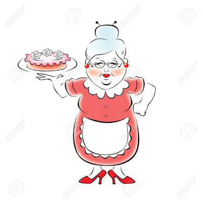 grandma-baked-a-delicious-cake-stock-vector-cartoon-cooking-grandmother