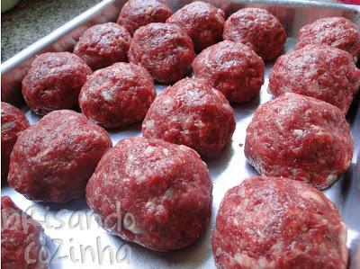 polpetone-bolinhas carne