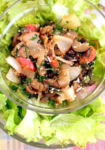 salada de berinejlas