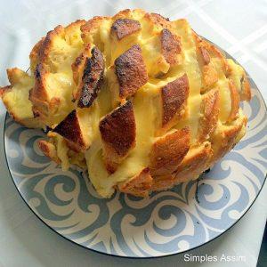 Pão recheado é uma deliciosa opção de petisco
