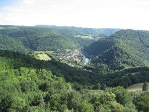 Montecheroux, vue de Saint-Hippolyte