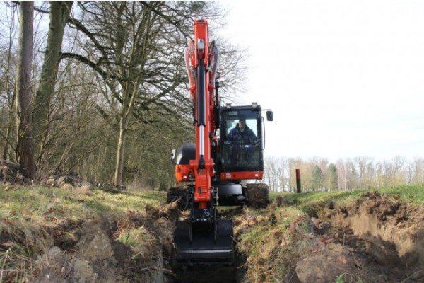 excavadora kubota 8200kg
