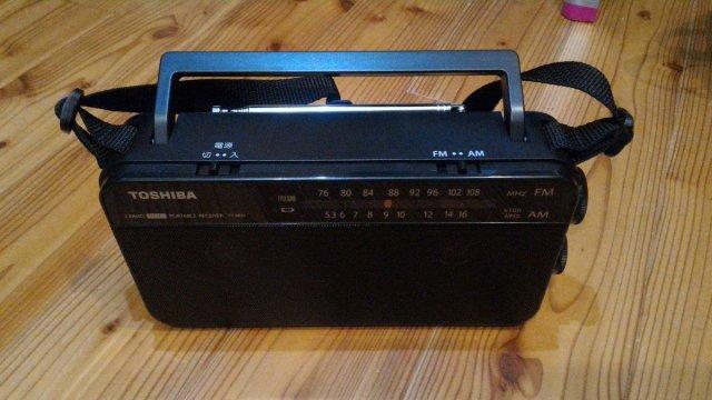 TY-AR55 東芝 ラジオ 購入しました