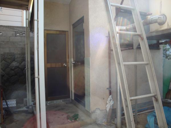 浴室の建て替え 工事前