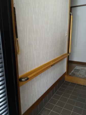 手すり 取付 住宅玄関