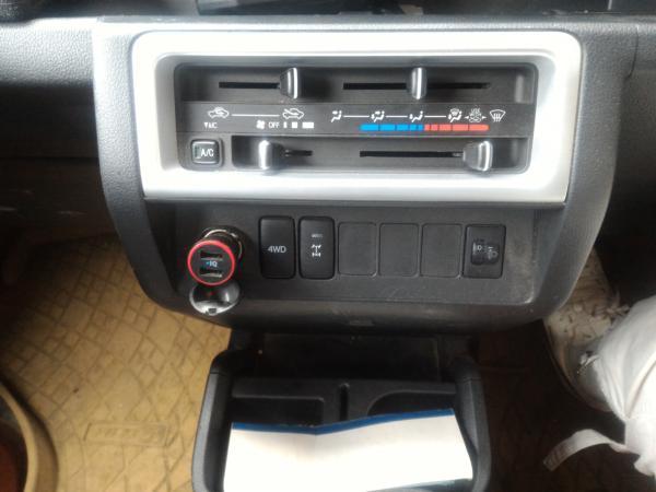 ハイゼットトラック S510Pの4WDとデフロックスイッチ
