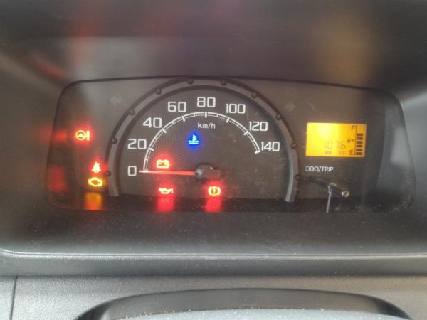 ハイゼットトラック S510Pのメーター周り