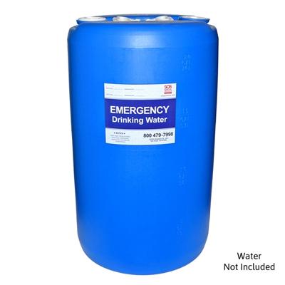 20 Gallon Emergency Water Barrel For Drinking Water Storage