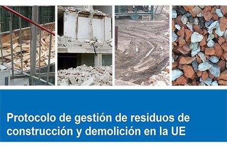 Jornada de presentación del PROTOCOLO DE GESTIÓN DE RESIDUOS DE CONSTRUCCIÓN Y DEMOLICIÓN EN LA UE en Madrid