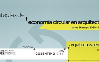 """Vídeo: """"Estrategias de economía circular en arquitectura"""""""