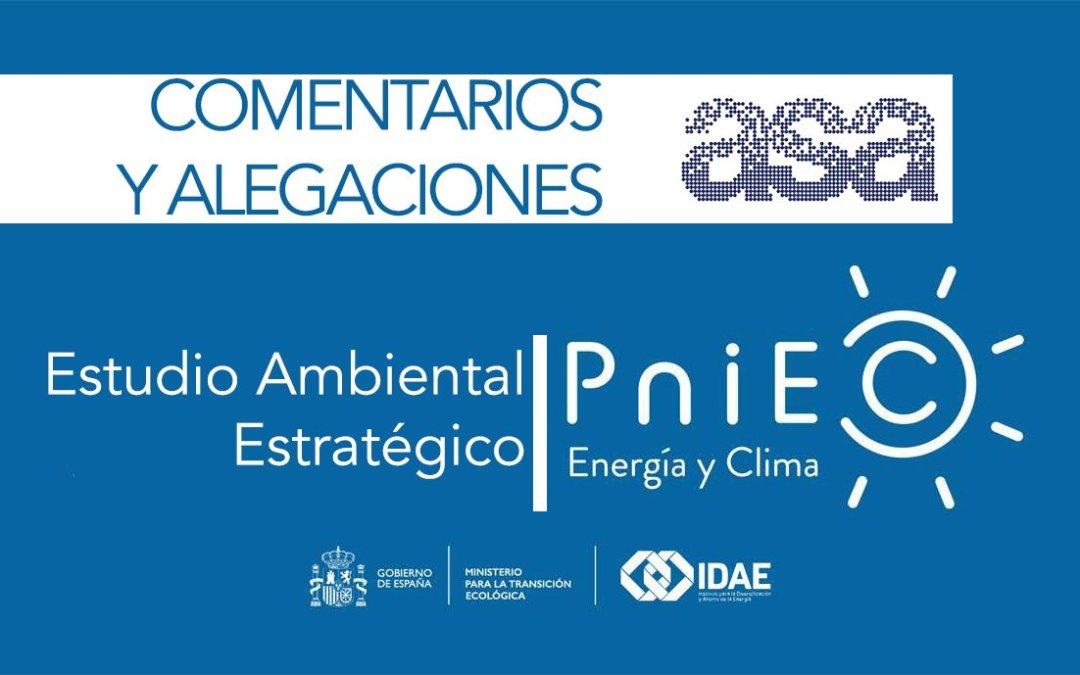 Estudio Ambiental Estratégico PNIEC