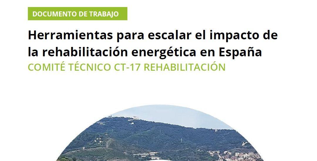 CONAMA 2020: Documento de trabajo sobre la rehabilitación energética