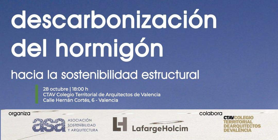 descarbonización hormigón Valencia