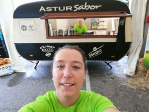 Judith Naves en su foodtruck