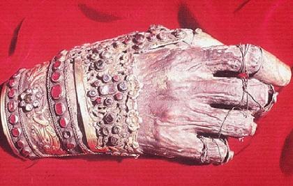Η θαυμαστή αφθαρσία αφθαρσία του αυτιού και του χεριού του Αγίου Ιωάννη του Χρυσοστόμου