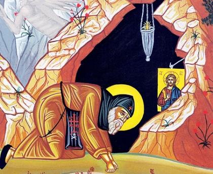 Νά ἐπικαλεῖστε μέ πίστη τή Θεοτόκο καί τούς Ἁγίους. Aὐτοί ἀκοῦνε τίς προσευχές μας (άγιος Σιλουανός)
