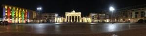 Brandenburger Tor at the Festival of Lights
