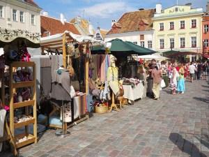 Feira da Praça Principal de Tallinn