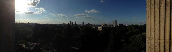 Vista do Parc des Buttes Chaumont
