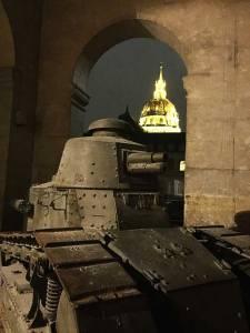 Tanque no Museu Militar em Paris