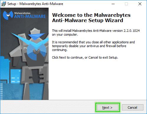 Setup_Step1_Malwarebytes_Anti_Malware_sos-malware Tutorial Malwarebytes Anti-Malware