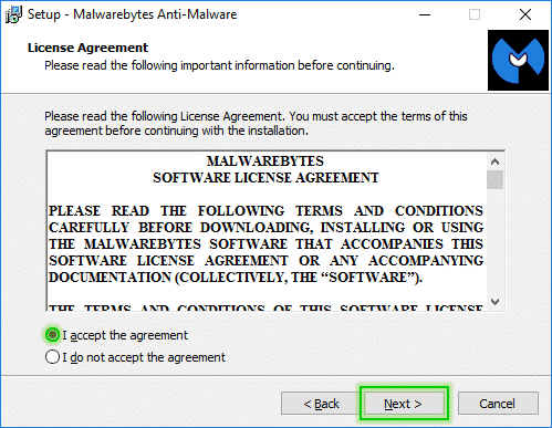 Setup_Step2_Malwarebytes_Anti_Malware_sos-malware Tutorial Malwarebytes Anti-Malware