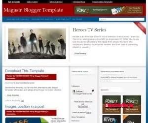 Biri Magazin Teması Mı Dedi : Magasin Tres For Blogger
