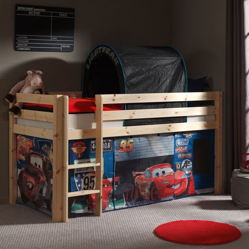 Tente Amp Tunnel Pour Lit Pino Cars 2