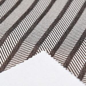 Tessuto cotone spigato accoppiato