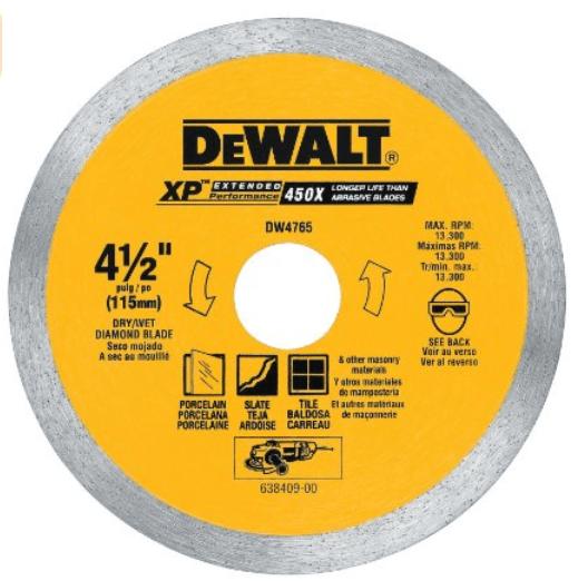 dewalt cutting wheel