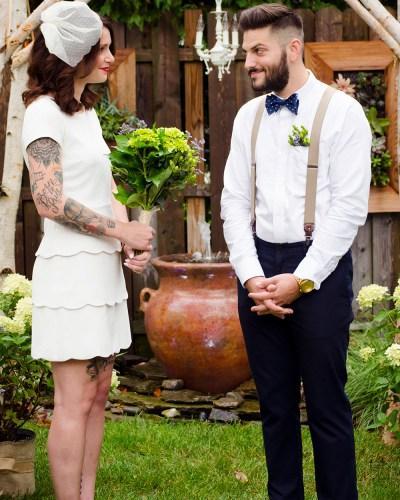 Kristina & John's Backyard Wedding