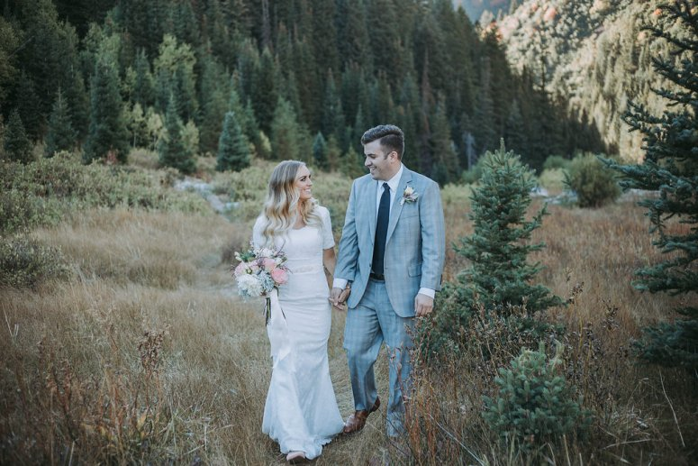 Pacific North West Bridal Session