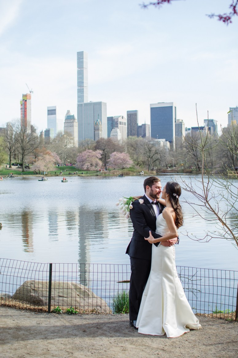 Elopement in Central Park NYC