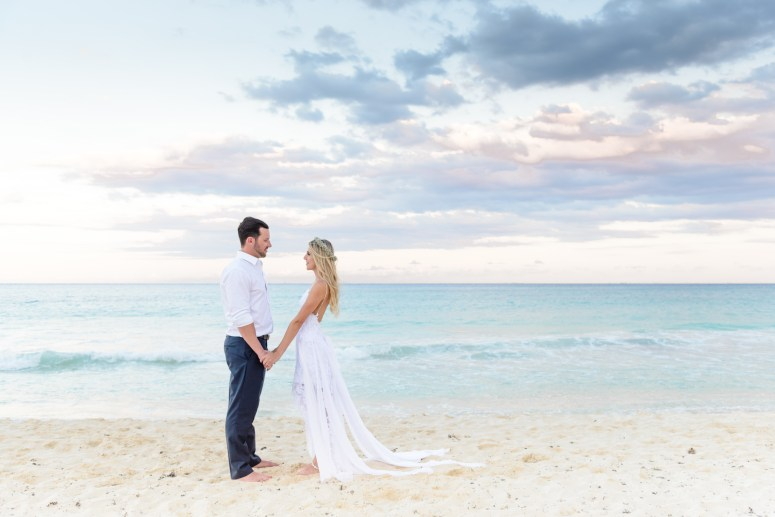 Destination Wedding in Mexico on the Beach