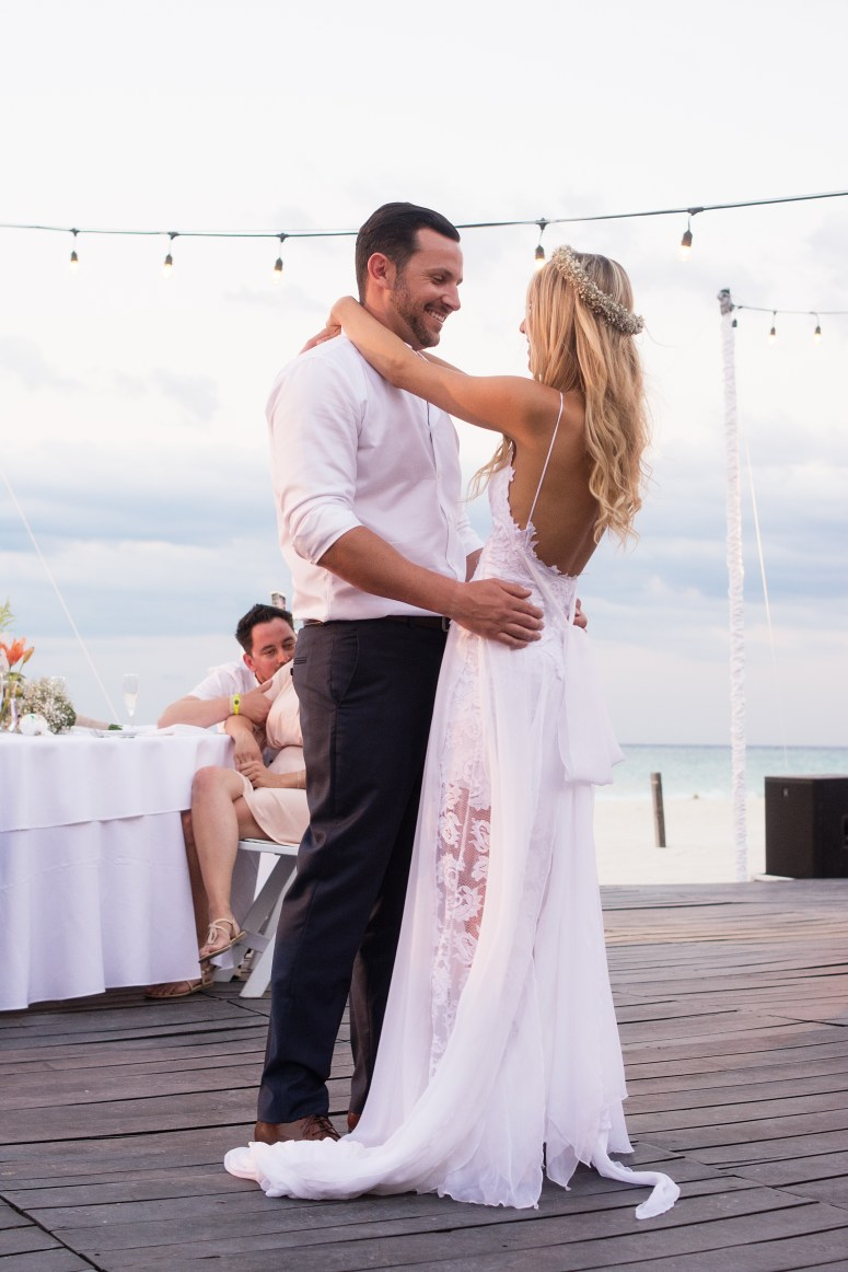 Destination Wedding in Mexico at Playacar Palace on the Beach