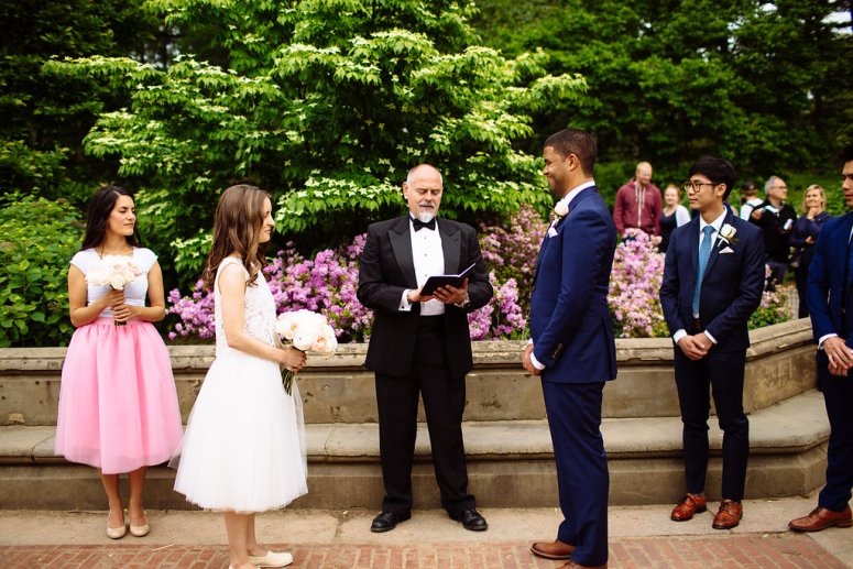 Wedding in Central Park NYC