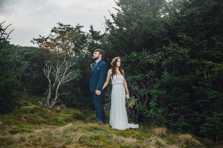 Intimate Wedding Ceremony on Appalachian Trail