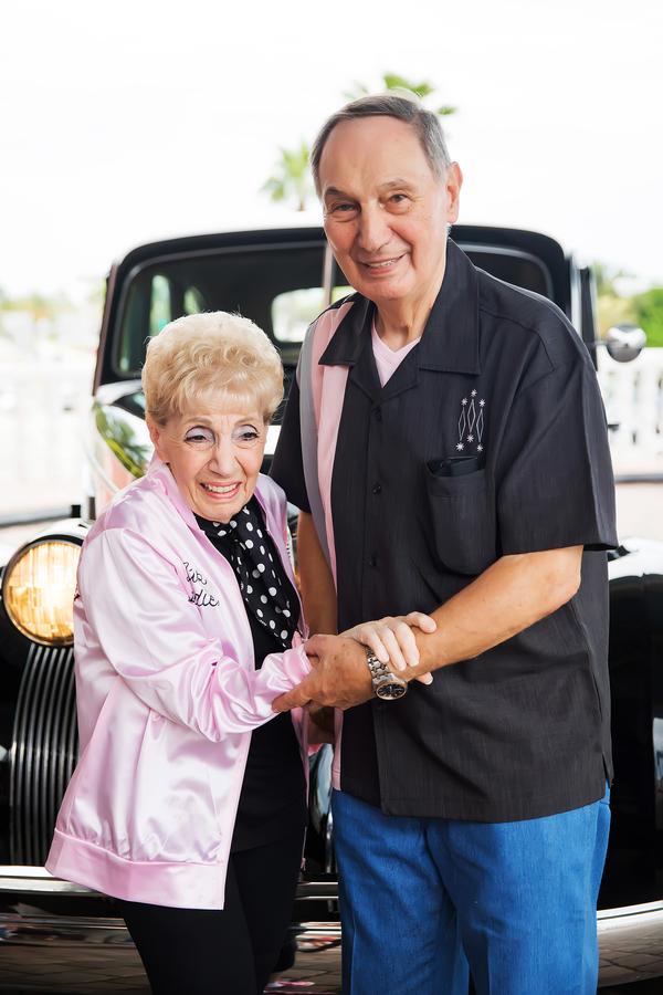 60th wedding anniversary bride and groom