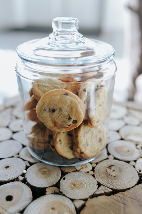 Cookie Jar Snack at Wedding