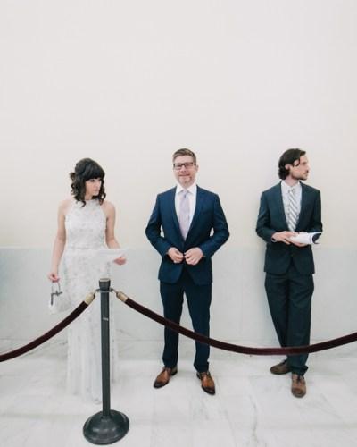 San Francisco City Hall Wedding by IQPhoto Studio