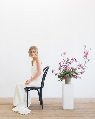 A Boho Minimalist Themed Wedding Styled Shoot
