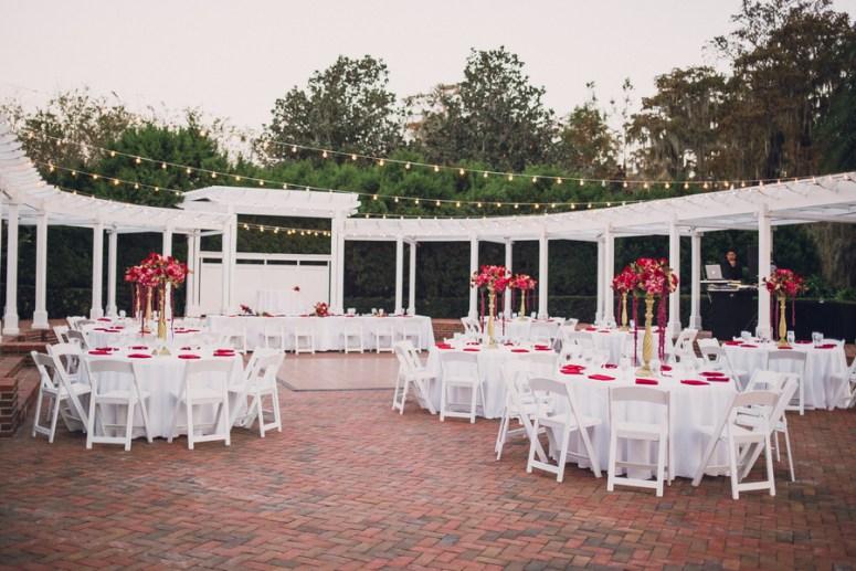 outdoor wedding in Orlando | Twinkle Lights