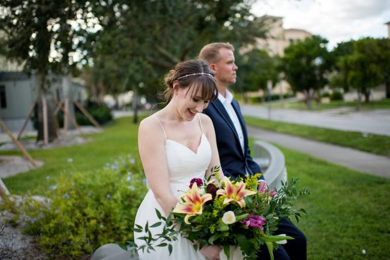 Bridal Bouquet for Spring Wedding