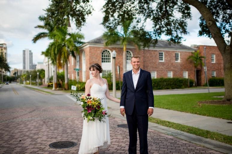 Downtown Wedding Photos