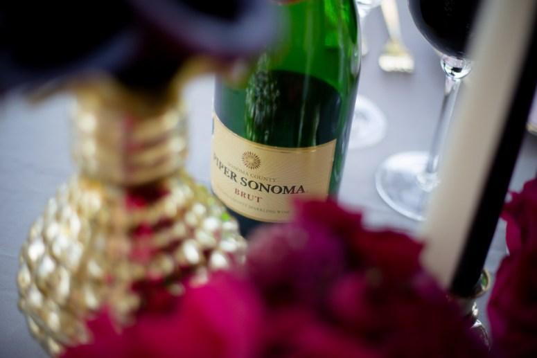 champagne toast at wedding, champagne toast at wedding, pink wedding decor