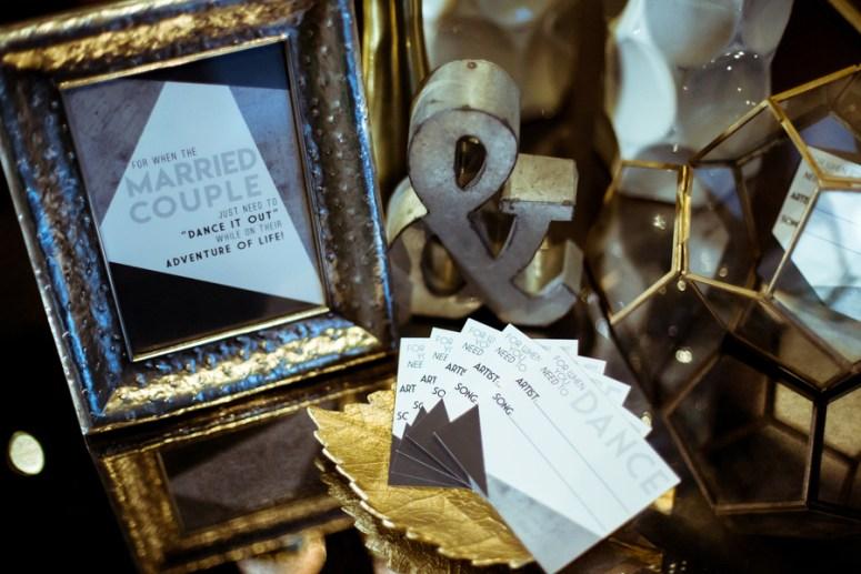 masculine wedding decor, gay wedding ideas, geometric wedding decor