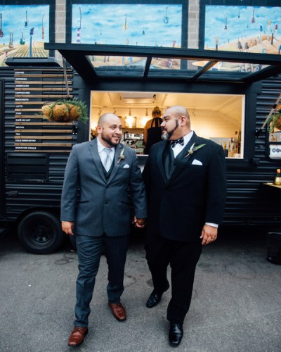 A Mr. & Mr. Styled Wedding at The Padre Hotel in Bakersfield