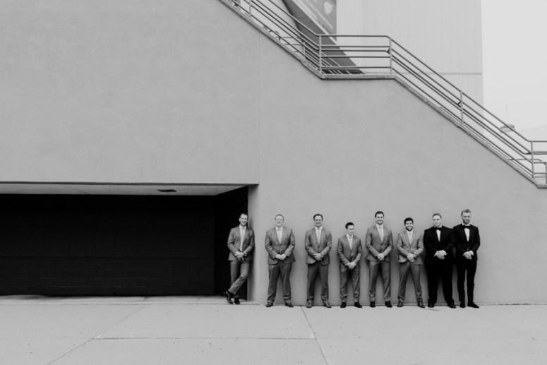 groomsmen portraits, Detroit wedding, groomsmen poses