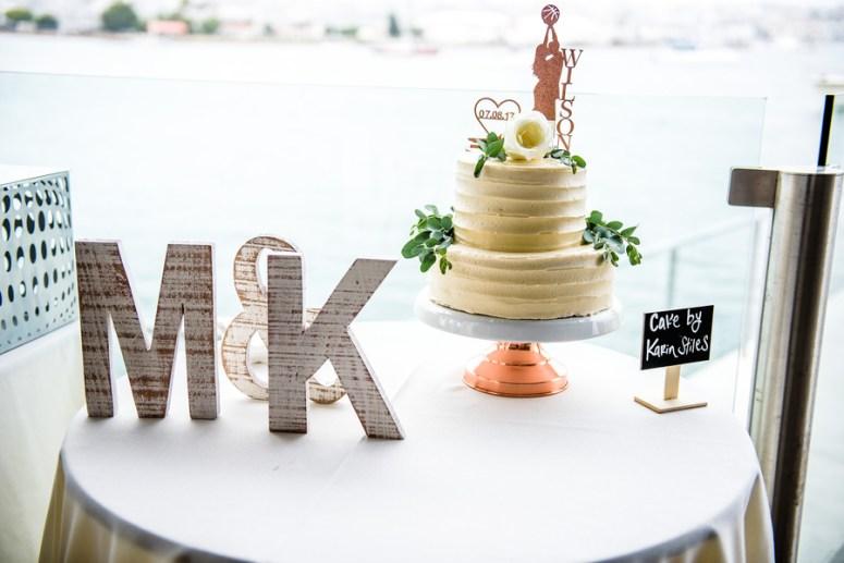 Two Tier Wedding Cake, Wedding Cake Table